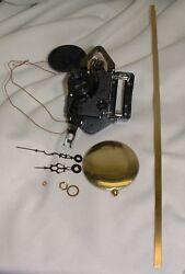 Seiko Dual Chime Quartz Clock Movement Pendulum Short Shaft for Dials up to 1/4