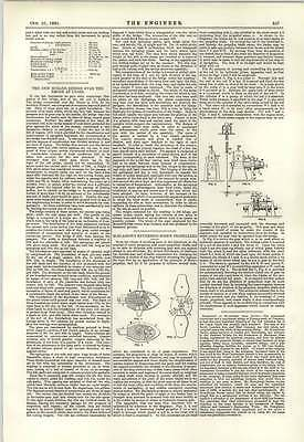 1891 Mcglassons Reversing Screw Propellers New Morand Bridge