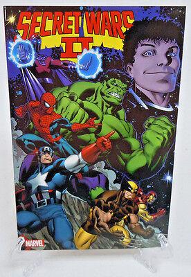 Secret Wars II 1 2 3 4 5 6 7 8 9 Hulk Marvel Comics TPB Trade Paperback New