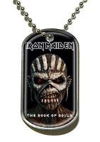 Iron Maiden , Libro Of Souls , Dog Collana Con Targhetta 200699 -  - ebay.it