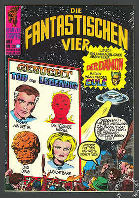 Die Fantastischen Vier Nr. 7  Z. 0-1  Williams Verlag
