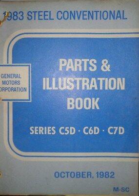 1983 Chevrolet GMC Truck Steel Conv Parts and Illustration Catalog Manual   1983 Gmc Truck Parts