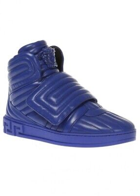 Versace Trainers Mens Quilted Shoes Size 8