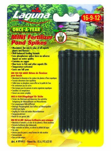 Laguna Aquatic Slow Release Mini Fertilizer Spikes for Ponds & Water Gardens