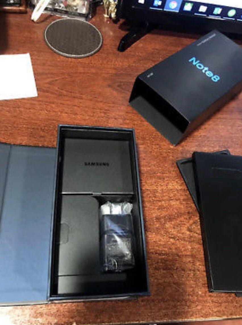 Samsung Galaxy Note8 SM-N950 - 64GB - Orchid Gray (Unlocked) Smartphone