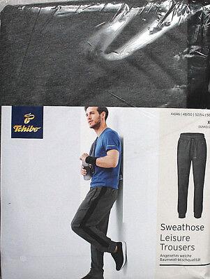 Herren Sweathose Sporthose Fitnesshose Gr.XL 56/58 Neu Tchibo TCM