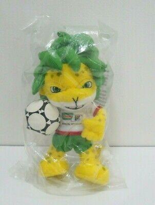 "FIFA World Cup 2010 South Africa Zakumi Mascot Tiger NEW SEAL 8"" Plush Toy Doll  segunda mano  Embacar hacia Argentina"