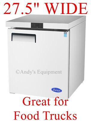 27 Commercial Refrigerator Undercounter Cooler 115v Nice For Food Trucks Nsf