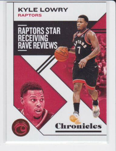 2019-20 PANINI CHRONICLES TORONTO RAPTORS KYLE LOWRY BRONZE PARALLEL NO. 8