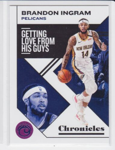 2019-20 PANINI CHRONICLES NEW ORLEANS PELICANS BRANDON INGRAM PINK PARALLEL