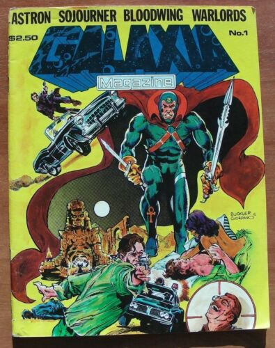 Galaxia Magazine #1, VG/FN, 1981, Rich Buckler, Mark Texiera, Dick Giordano