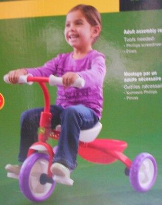 Tomy John Deere Girls Steel Tricycle Folds for Storage NIB Assembly Required 11 John Deere Tricycle