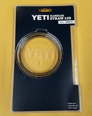 YETI Rambler Plastic Straw with Lid for 30 oz. Tumblers