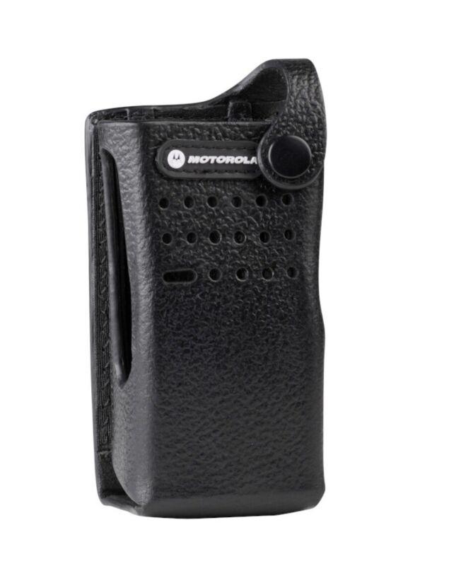 Motorola+DP2000+Series+PMLN5864A+Hard+Leather+Carry+Case+%2C+3%E2%80%9D+Swivel+Belt+Loop