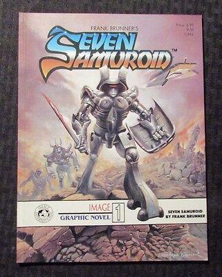 1984 Seven Samuroid  1 By Frank Brunner Sc Vf 8 0 1St Image International