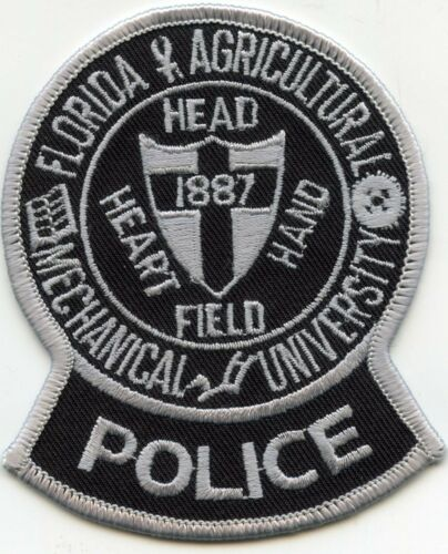 FLORIDA FL AGRICULTURE MECHANICAL UNIVERSITY CAMPUS POLICE PATCH