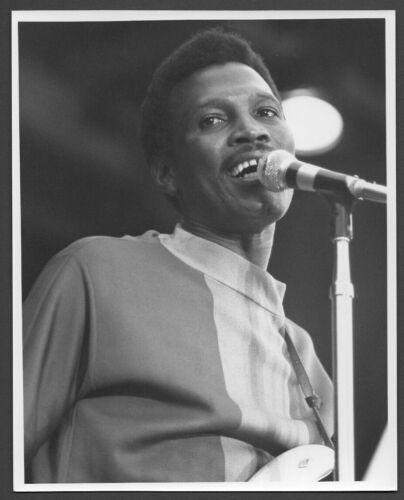 MAGIC SAM blues guitarist singer 1969 Ann Arbor Festival ORIG PHOTO by TOM COPI