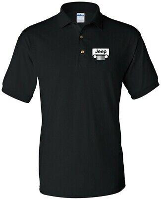 Jeep Wrangler Logo Men's Polo Shirt ()