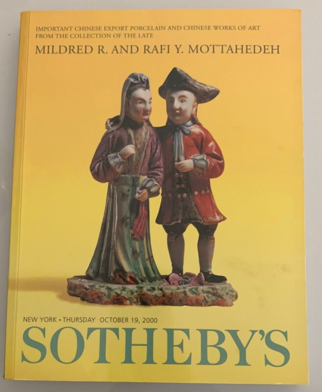 Auction Catalog: Sotheby's Chinese Porcelain & Art Collection of Mottahedeh 2000