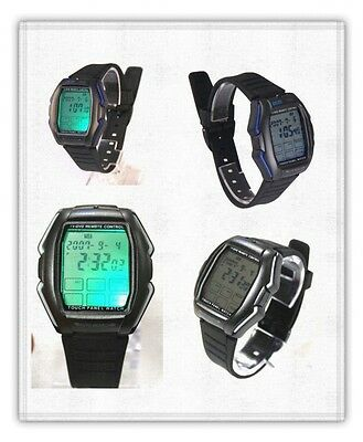 Remote Control Alarm Calendar Light Touch Panel Multi function Watch-FREE S.SHIP