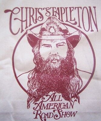 NEW Chris Stapleton All American Road Show Canvas Tote Bag