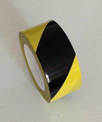 2 X 108 Hazard Areas Warning Laminated Marking Vinyl Safety Tape Stairs 2 Roll