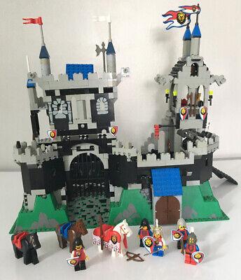Rare Vintage Lego Partial Set 6090 Royal Knight's Castle W Mini Figures 1995 Lot