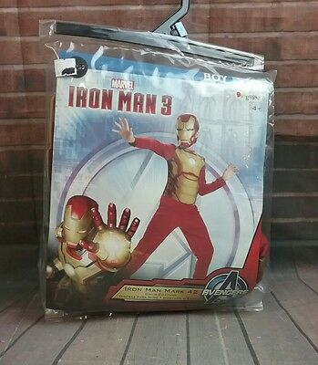 Marvel Iron man 3,Iron Man Mark 42, Kids Halloween Costume](Iron Man Costume For Girls)