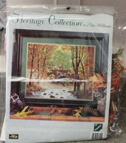 JCA Elsa Williams Heritage Collection Autumn Bridge Repacakged kit