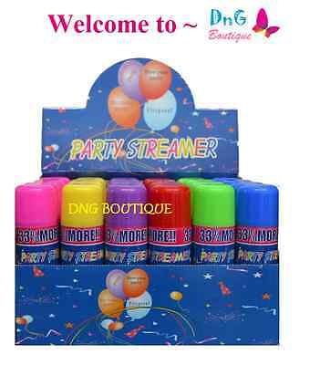 (1,3,5 Cans Silly Goofy Crazy Prank Party String Spray Streamer Wedding Supplie)