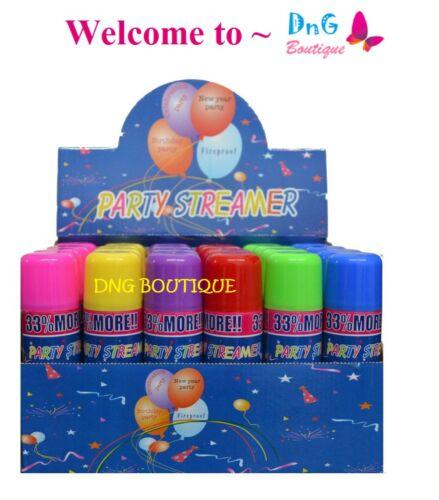 6 Cans Silly Goofy Crazy Prank Party String Spray Streamer Wedding Supplies