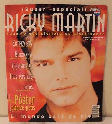 RICKY MARTIN, SWITCH REVISTA, !SUPER ESPECIAL!, MEXICO, COMO TV Y NOVELAS