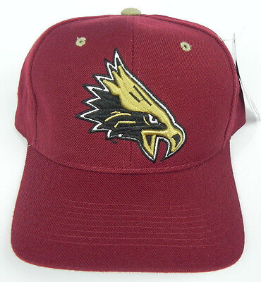 BOSTON COLLEGE EAGLES MAROON NCAA VINTAGE FITTED SIZED ZEPHYR DH CAP HAT NWT!