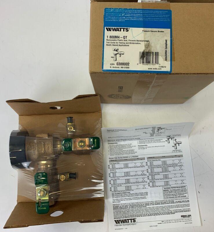 WATTS Pressure Vacuum Breaker 1800M4-QT