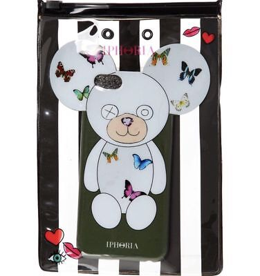 Smart Stylish IPHORIA Olive Butterflies Teddy Bear Phone Case iPhone 6-6s #A