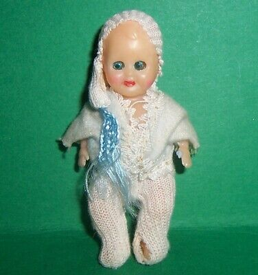 VINTAGE DOLLS HOUSE JOINTED BABY DOLL