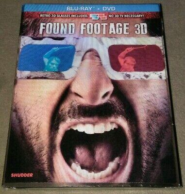 Found Footage 3D Blu-ray + Dvd New *HORROR - Halloween 3d Dvd