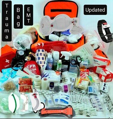 Large Trauma Bag Emtems First Responder First Aid Medical Kit Disaster Kit Bag