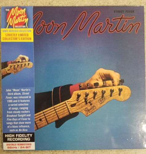 Street Fever by Moon Martin  CD Vinyl Replica Collection NEW