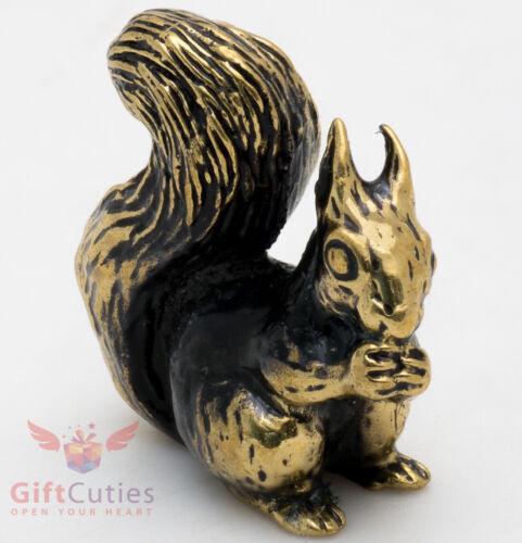 Brass Squirrel figurine IronWork