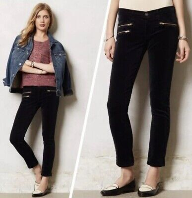 NWT Adriano Goldschmied AG Jeans The Stevie Ankle Moto Cords Size 28 Straight Ag Jeans, Cord Jeans
