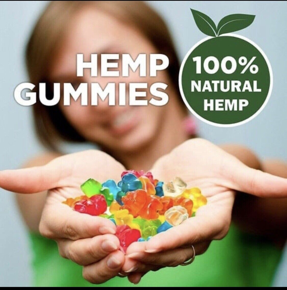 2 Lot Natural Gummies Great Relief for Pain, Stress & Anxiety Vitamin Sleep