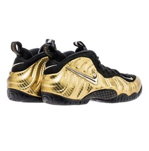 Nike Foamposite Pro, Gold/Black DEADSTOCK Size 11