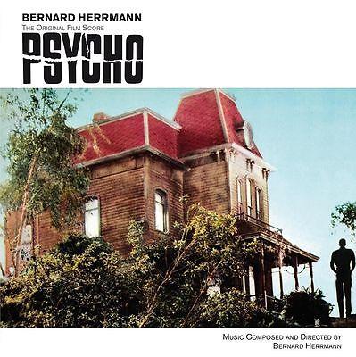 Psycho 'Bernard Herrmann' Original Soundtrack ost - 180g Red Vinyl LP New Sealed