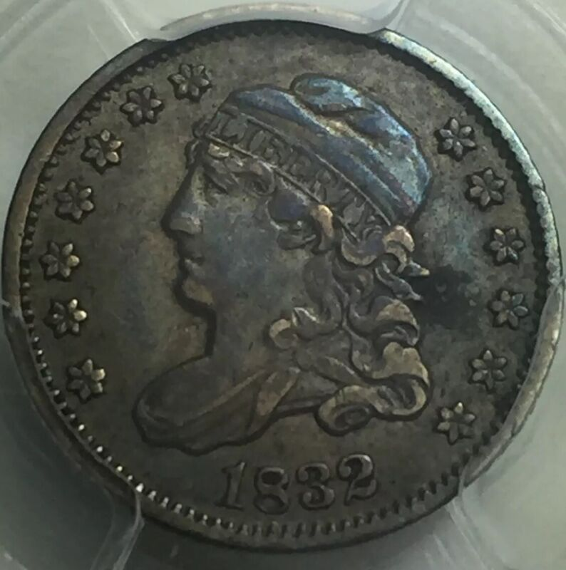 1832 Capped Bust Half Dime PCGS XF40