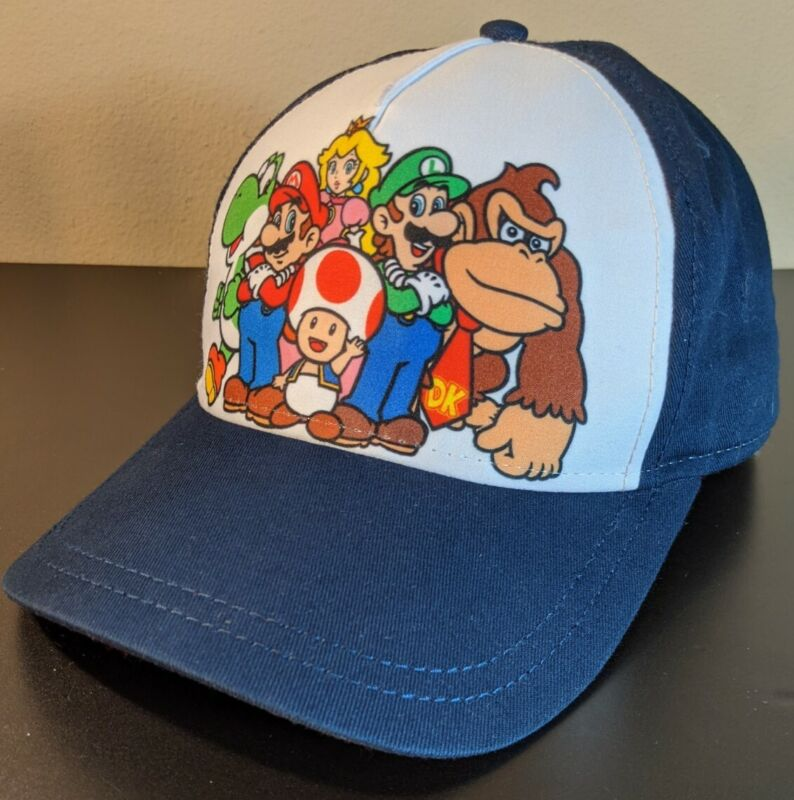 Nintendo Super Mario And Friends Youth Snapback Hat