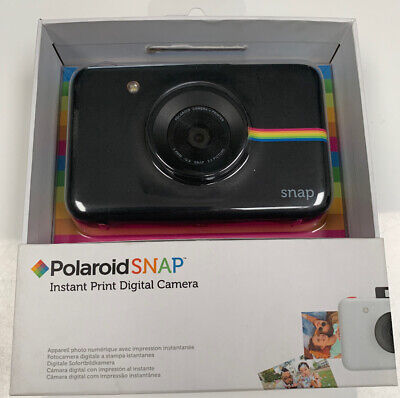 Polaroid Snap Instant Camera Black -  Including New Case