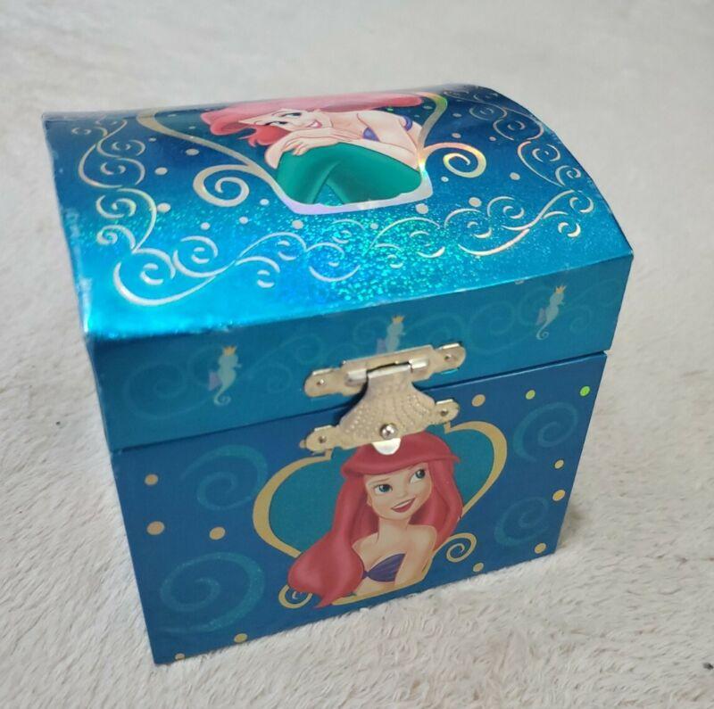 "Disney 1988 Ariel Little Mermaid ""Under The Sea"" Musical Jewelry Box PRISTINE"