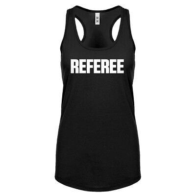 Womens Referee Racerback Tank Top #3269
