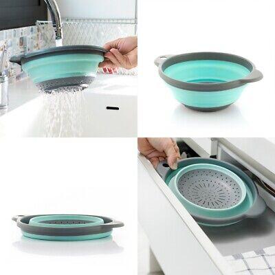 Escurridor de Cocina Plegable de silicona y plastico, 27 x 3-9 x...